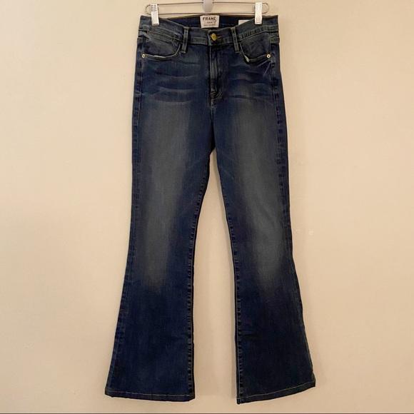Frame High Rise High Waist Le High Flare Jeans 28